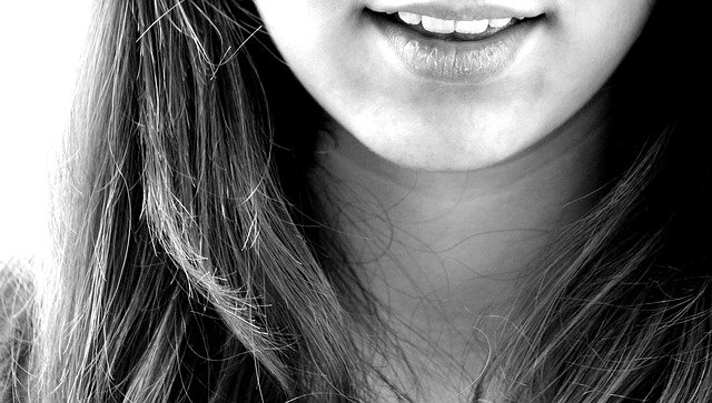 úsměv dívky